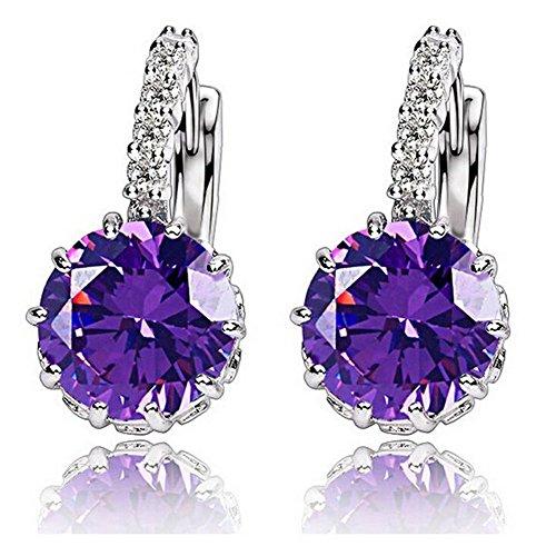 flamboyantgoods-1-pair-fashion-women-elegant-crystal-rhinestone-silver-plated-ear-stud-earringspurpl