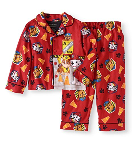 Coat Set Pj (Paw Patrol 2 Piece Pajama Set for Toddlers (4T))
