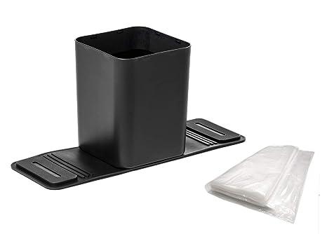 Amazon.com: Meistar - Cubo de basura de plástico con 20 ...