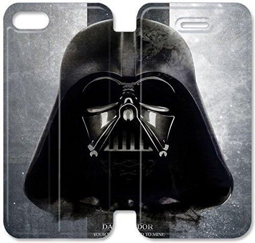 Klreng Walatina® Coque iPhone 6 6s Plus de 5,5 pouces Coque cuir américaine Epic Film Star Wars The Force réveille P8D1Jc