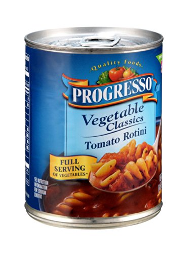 Progresso Vegetable Classics Tomato Rotini Soup 19OZ (Pack of 24)