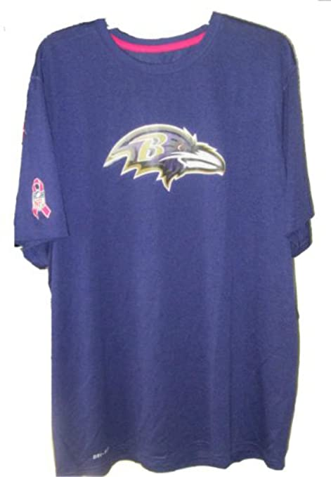 Image Unavailable. Image not available for. Color  Baltimore Ravens Adult  Medium Short Sleeve Team Colors Tee Shirt - Breast Cancer Awareness 241c57a82