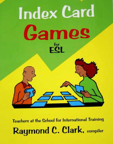 Index Card Games for ESL