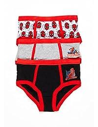 Spiderman Homecoming Boys Underwear | Briefs 3-pack Size 4T