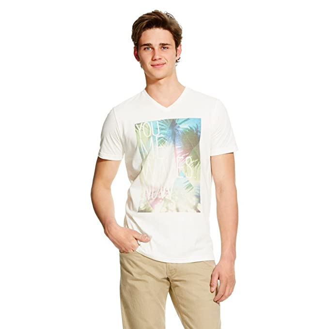 828fa4ee Amazon.com: Masked Brand Mossimo Supply CO. Men's You Me Waves Now T ...