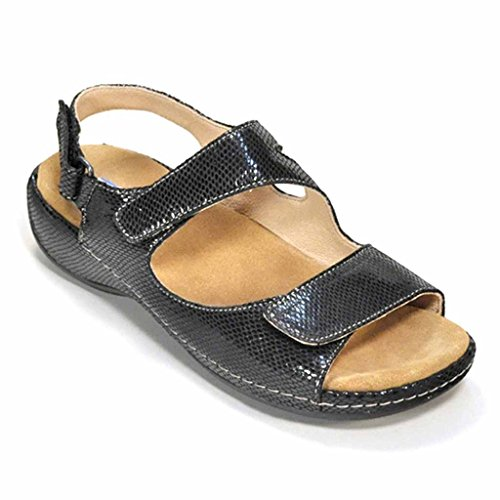 43 348 leather Wolky Sandals café 0315 Liana tA7Yw