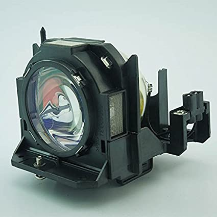 Replacement Lamp with Housing for PANASONIC PT-D6000U TWIN PACK with Phoenix Bulb Inside