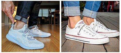 Womens-No-Show-Socks-Cotton-Low-Cut-Flat-Boat-Liner-Non-Slip-Casual-Short-Socks-6-Pair