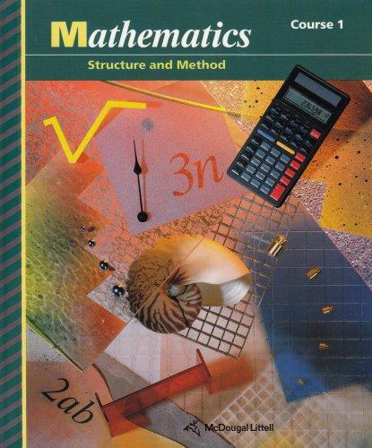 Mathematics: Structure & Method (Course 1)