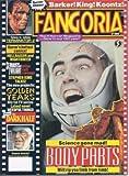 FANGORIA #105, August, Aug. 1991 (Body Parts; Terminator 2; Servants of the Twilight; Stephen King; Clive Barker; Dean R. Koontz; Bride of Reanimator)