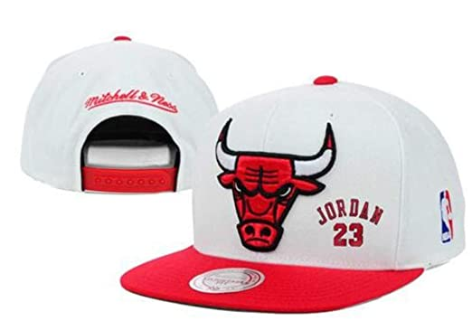 0211e67816c Image Unavailable. Image not available for. Color  Mike Jordan  23 Chicago  Basketball Team Snap-Back Hat!