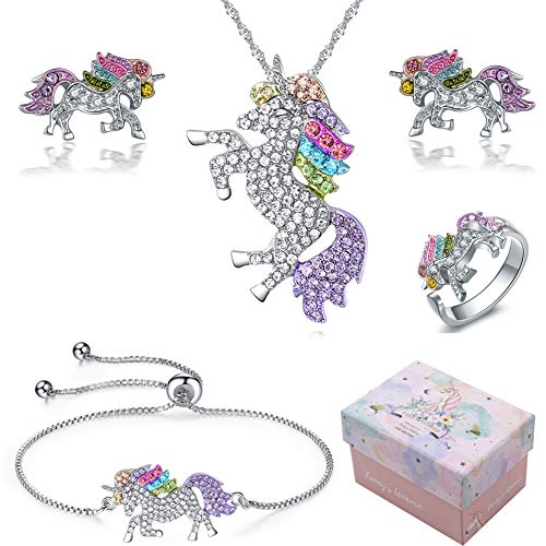 Jetloter Unicorn Alloy Necklace -