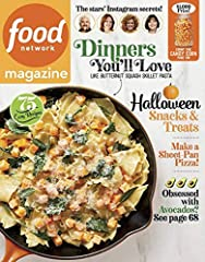 Food Network Magazine is HERE. Each issue is packed with inside scoops & tips from everyone's favorite TV stars. Plus hundreds of recipes!Food Network Magazine is a very unique magazine published by the Food Network. It differs from the u...
