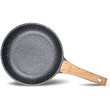 Amazon Com Carote 9 5 Inch Deep Frying Pan Wok Pfoa Free