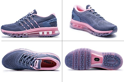 Sloping Onemix Grey Shoes Running Air Womens Design Tongue Pink arvxrI0n