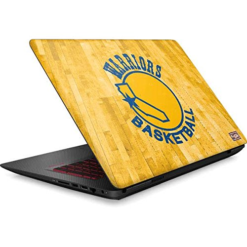 Skinit NBA Golden State Warriors Omen 15in Skin - Golden State Warriors Hardwood Classics Design - Ultra Thin, Lightweight Vinyl Decal Protection by Skinit