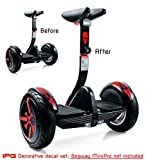 IPG For Segway miniPRO | Smart Self Balancing Personal Transporter Hoverboard Decorative Scooter Accessories Vinyl Decal Wrap Skin Do it Yourself by (Skull Series)