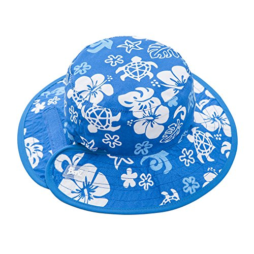 Baby BanZ UV Reversible Bucket Hat, Blue Sea Turtle, 2-5 Years by Baby Banz