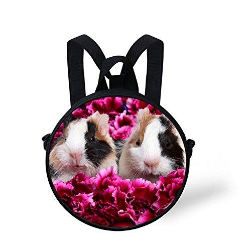 Print FancyPrint Round for Bag Women Nyec0285i Bag Round Shoulder Cute 5wwOqg1p