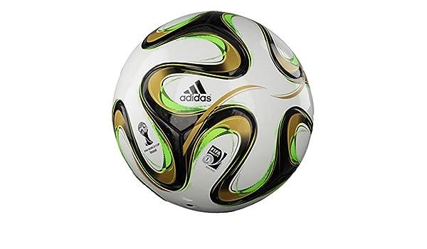 adidas Brazuca Final Top Replique Fútbol Mundial 2014: Amazon.es ...