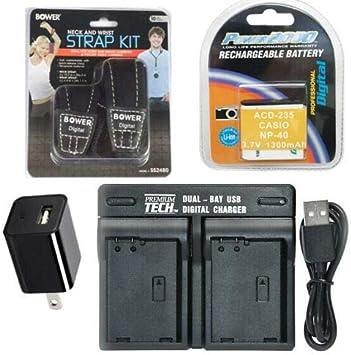 az361 astro zoom Bateria para kodak PixPro az501 az362