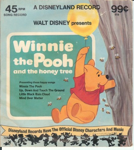 Winnie the Pooh and the Honey Tree Disneyland Record (45 RPM)