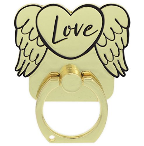 - Love Angel Wings Gold Phone Ring.