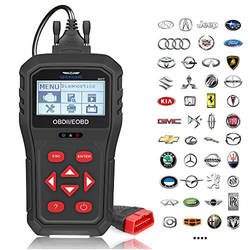 OBD2 Scanner, SEEKONE SK819 Universal Car Code Reader Professional Vehicle Diagnostic Tool Auto Check Engine Light Scan Tool for All OBDII Protocol Cars Since 1996