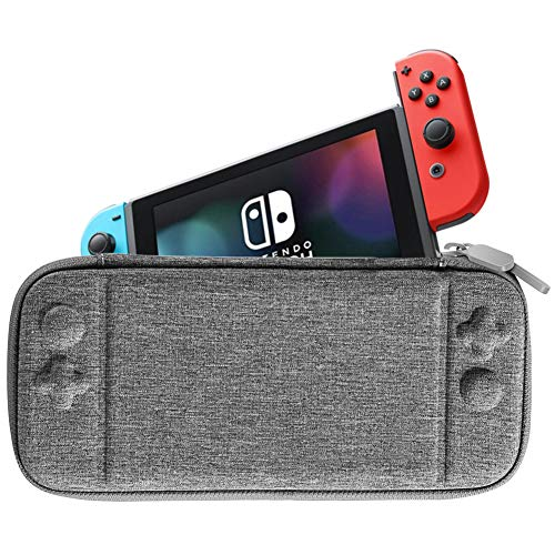 Ultra Slim Carrying Case Fit for Nintendo Switch,Portable Hard Shell Travel Case Pouch