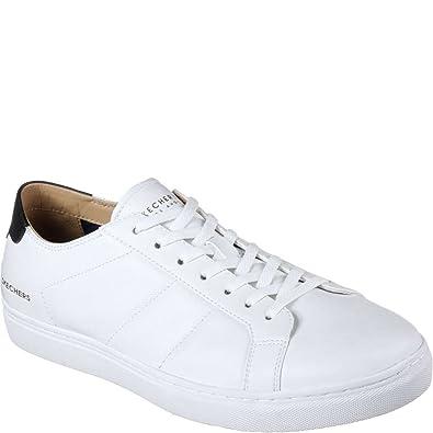 Skechers Men s Venice T KINANE (6.5) White 66737befe1fa