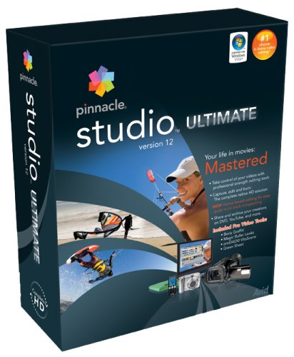 Price comparison product image Pinnacle Studio Ultimate - ( V. 12 ) - Complete Package (T17722)