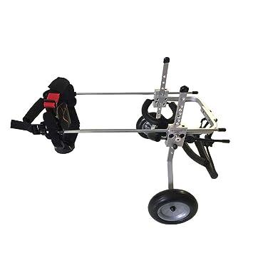 Silla de ruedas para mascotas, silla para perros, carro para perros, 1 kg
