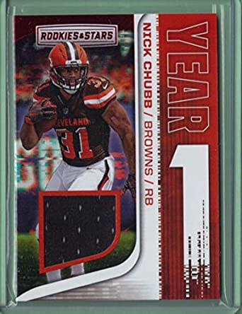7045109a7 Amazon.com  2018 Rookies and Stars Year One Jerseys  13 Nick Chubb ...