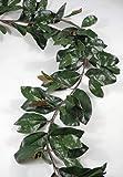 Richland Deluxe Magnolia Leaf Garland 6' 109 leaves Set of 4
