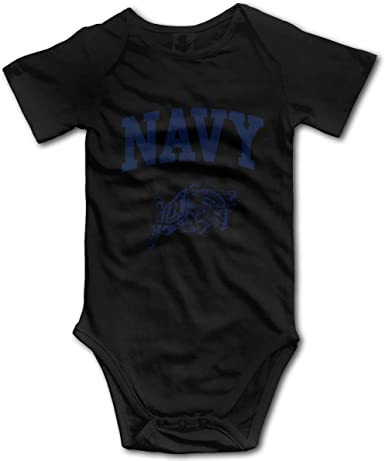 US Navy Naval Academy Infant Baby Onesies Jumpsuit Novelty Bodysuit Romper Tops