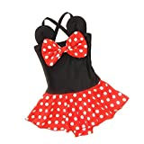 EGELEXY Baby Kid Girl Swimsuits Bathing Polka