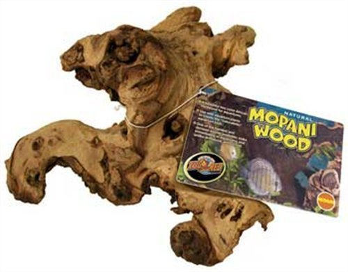 Zoo Med African Mopani Wood, Medium (Sizes May Vary) by Zoo Med