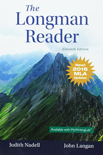 The Longman Reader, MLA Update Edition (11th Edition)