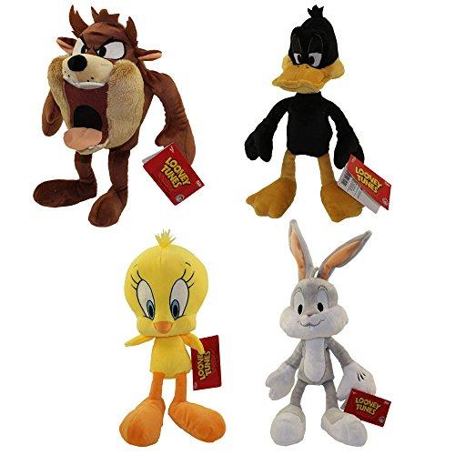 (Funko Collectible Plush - Looney Tunes - SET OF 4 (Daffy, Tweety, Bugs & Taz))