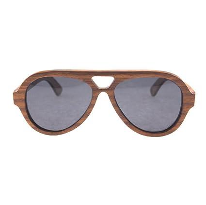 GUOHONG Moda Casual Gafas De Sol Air Force Bamboo Glasses ...