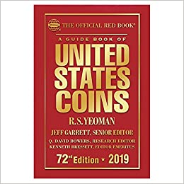2019 Official Red Book Of United States Coins Hardcover R S