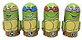 ninja turtle piggy bank - SET of 4 TMNT Teenage Mutant Ninja Turtles Molded Saving Banks