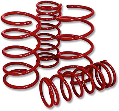 A32 Red For Nissan Maxima Suspension Lowering Spring