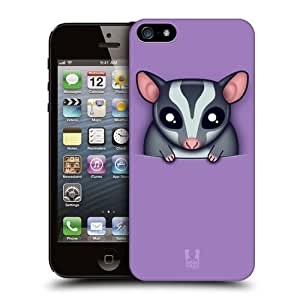 Head Case Designs Sugar Glider Pocket Pals Protective Snap-on Hard Back Case Cover for Apple iPhone 5 5s by ruishername