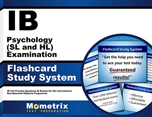 IB Psychology (SL and HL) Examination Flashcard Study System: IB Test Practice Questions & Review for the International Baccalaureate Diploma Programme (Cards)
