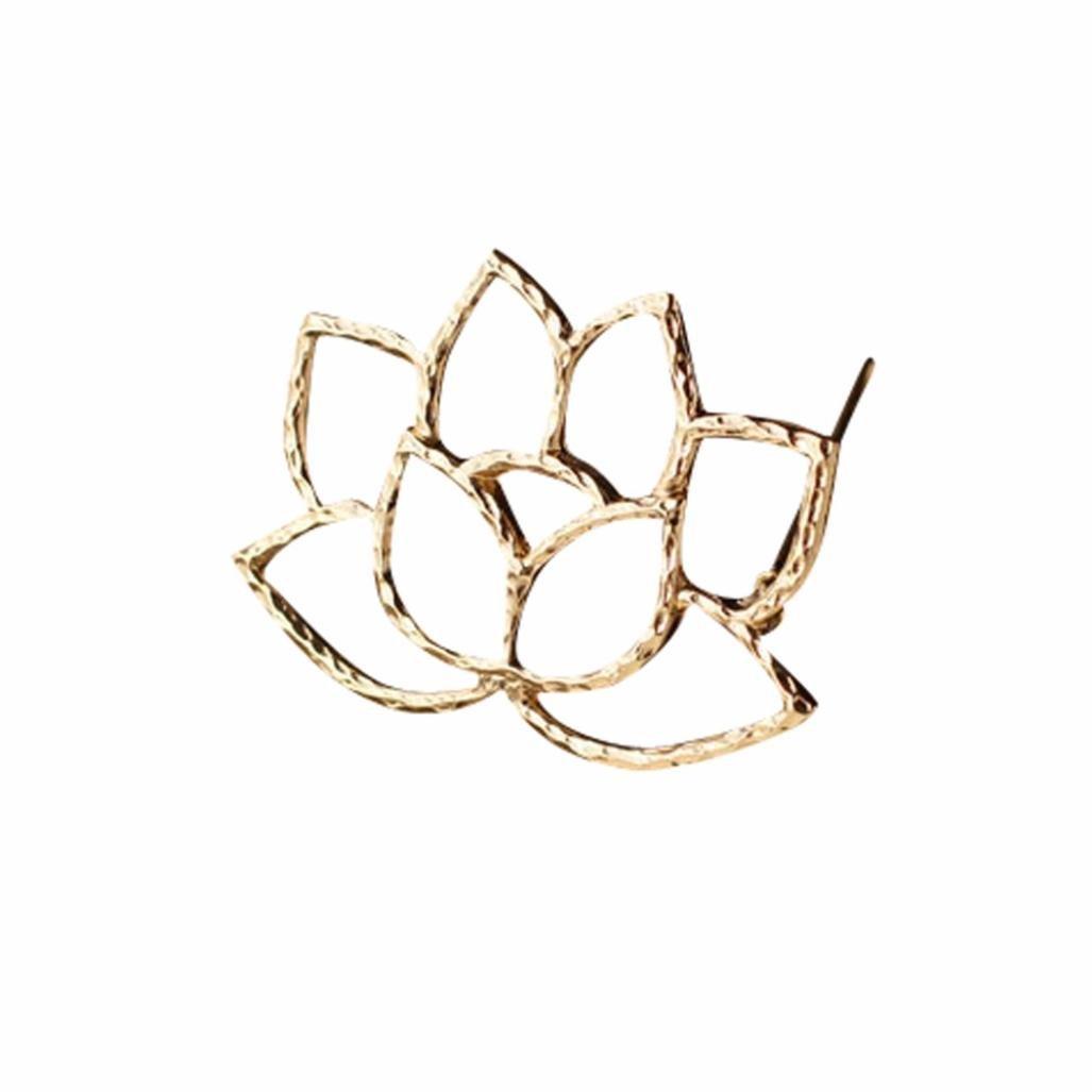 Toamen Accessoires pour cheveux Femmes Lotus Rétro Styling Hairpin épingles à cheveux Coiffure Fleur