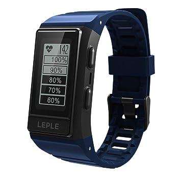 Insky2018 S909 Reloj inteligente, pulsera deportiva con monitor de frecuencia cardíaca, alerta IP68,