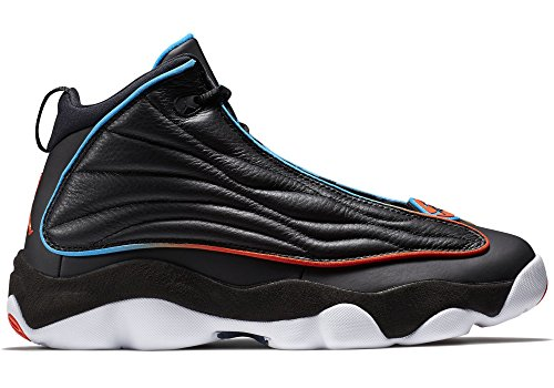 Strong Men's Blue Jordan Black Orange Basketball Shoes white Pro Team photo zUxxwE