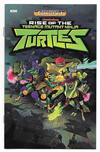 TEENAGE MUTANT NINJA TURTLES Rise of #1 Halloween Comicfest, Promo, 2018, NM, Ashcan ()
