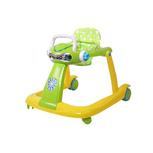 Baby Walker Multifunción Anti-o-Leg Anti-Rollover 6-12 Meses ...